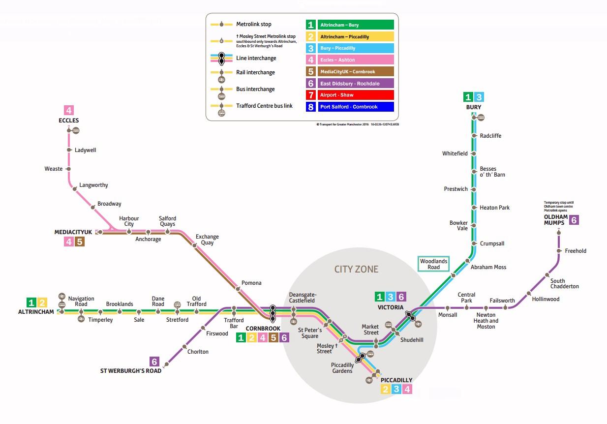 Metrolink Map 2017 Gallery